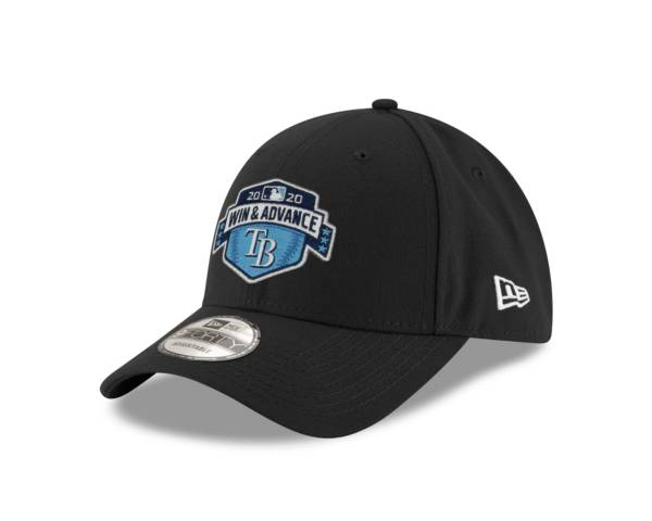 New Era Men's 2020 League Division Series Champions Tampa Bay Rays Black Locker Room 9Forty Adjustable Hat product image