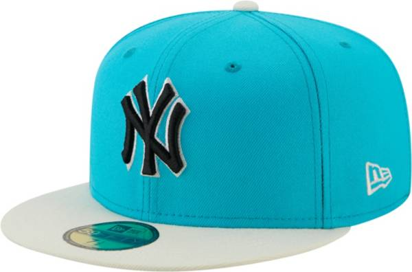 New Era Men's New York Yankees Blue 59Fifty Colorpack Fitted Hat product image