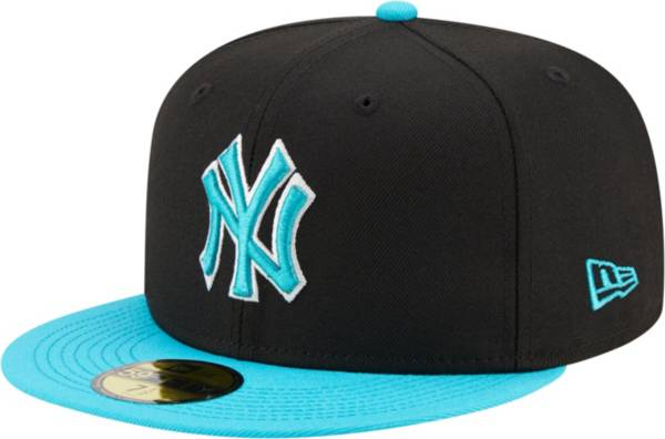 New Era Men's New York Yankees Black 59Fifty Colorpack Fitted Hat product image