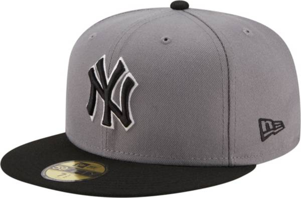 New Era Men's New York Yankees Gray 59Fifty Colorpack Fitted Hat product image