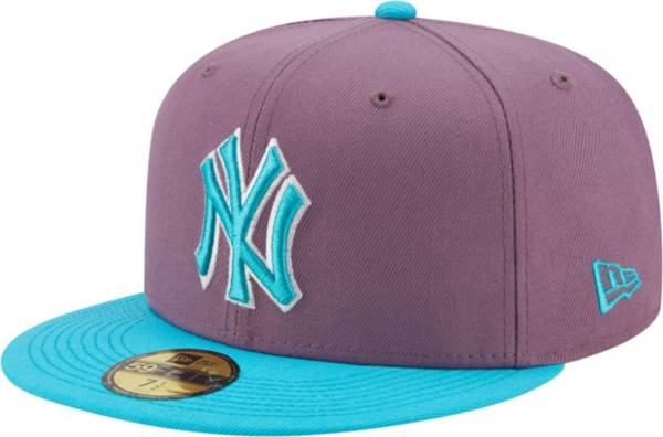 New Era Men's New York Yankees Purple 59Fifty Colorpack Fitted Hat product image