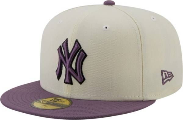 New Era Men's New York Yankees White 59Fifty Colorpack Fitted Hat product image