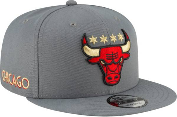 New Era Men's 2020-21 City Edition Chicago Bulls 9Fifty Alternate Adjustable Snapback Hat product image