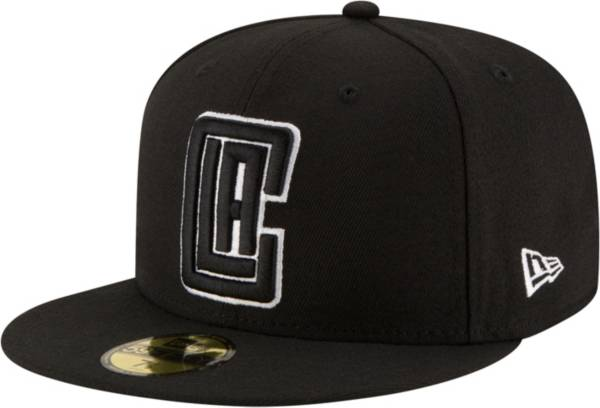 New Era Men's Los Angeles Clippers 2Tone 59Fifty Black Fitted Hat product image