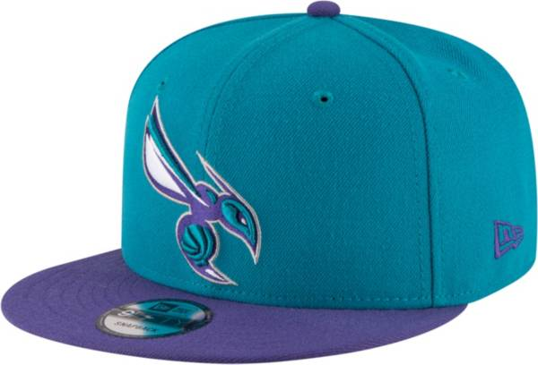 New Era Men's Charlotte Hornets 9Fifty Two Tone Adjustable Snapback Hat product image