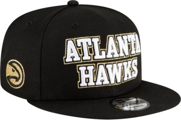 New Era Men's 2020-21 City Edition Atlanta Hawks 9Fifty Adjustable Snapback Hat product image