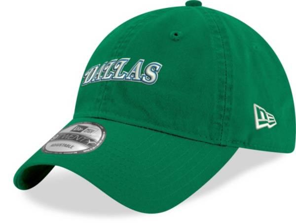 New Era Men's Dallas Mavericks Hardwood Classic 9Twenty Green Adjustable Hat product image