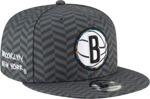 New Era Men's 2020-21 City Edition Brooklyn Nets 9Fifty Alternate Adjustable Snapback Hat product image