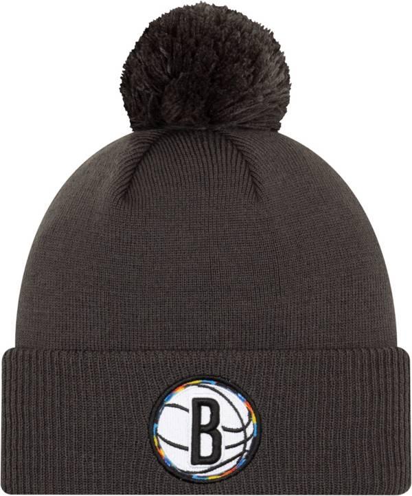 New Era Youth 2020-21 City Edition Brooklyn Nets Knit Hat product image