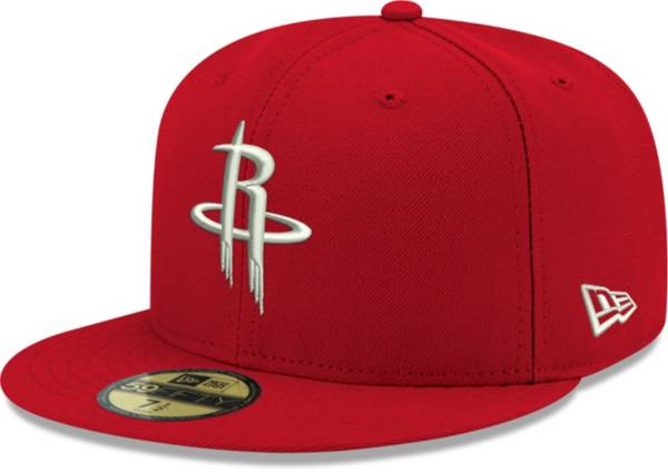 New Era Men's Houston Rockets 59Fifty Red Fitted Hat product image