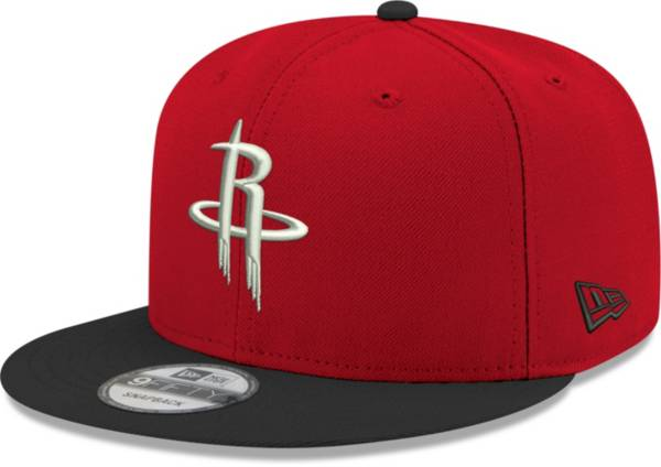 New Era Men's Houston Rockets 9Fifty Two Tone Adjustable Snapback Hat product image