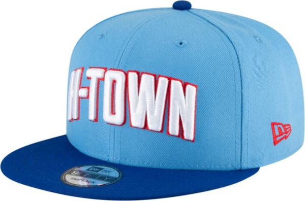 New Era Youth 2020-21 City Edition Houston Rockets 9Fifty Adjustable Snapback Hat product image