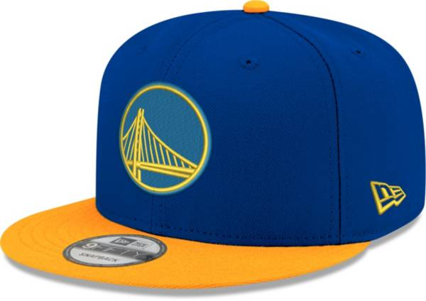 New Era Men's Golden State Warriors 9Fifty Two Tone Adjustable Snapback Hat product image