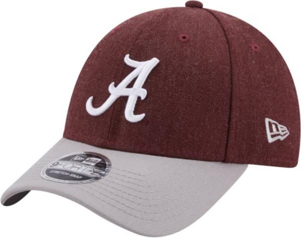 New Era Men's Alabama Crimson Tide Crimson League 9Forty Adjustable Hat product image