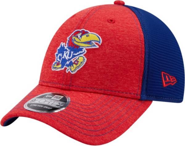 New Era Men's Kansas Jayhawks Blue 9Forty Neo Adjustable Hat product image