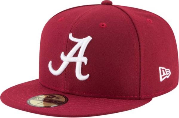New Era Men's Alabama Crimson Tide 59Fifty Game Crimson Game Fitted Hat product image