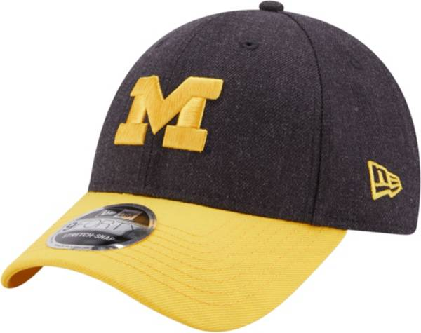 New Era Men's Michigan Wolverines Blue League 9Forty Adjustable Hat product image