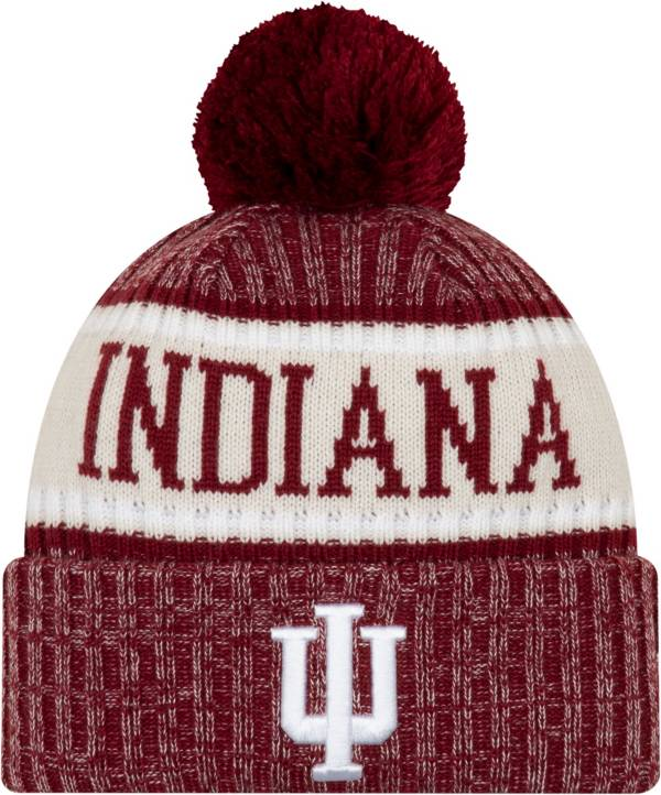 New Era Men's Indiana Hoosiers Sport Red Knit Hat product image