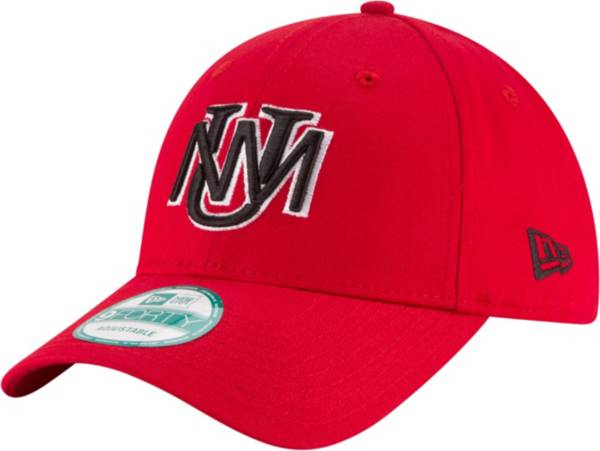 New Era Men's New Mexico Lobos Cherry League 9Forty Adjustable Hat product image