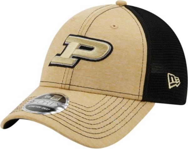 New Era Men's Purdue Boilermakers 9Forty Neo Adjustable Black Hat product image