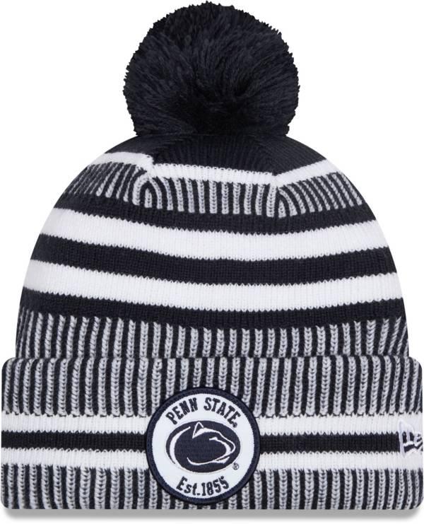New Era Men's Penn State Nittany Lions Blue Sport Knit Pom Beanie product image
