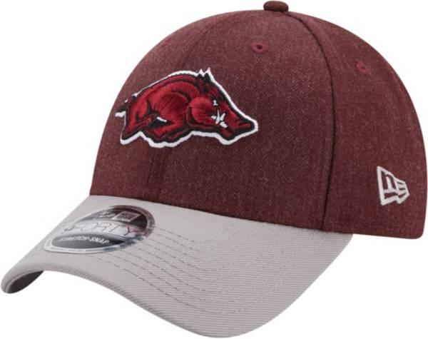 New Era Men's Arkansas Razorbacks Cardinal League 9Forty Adjustable Hat product image