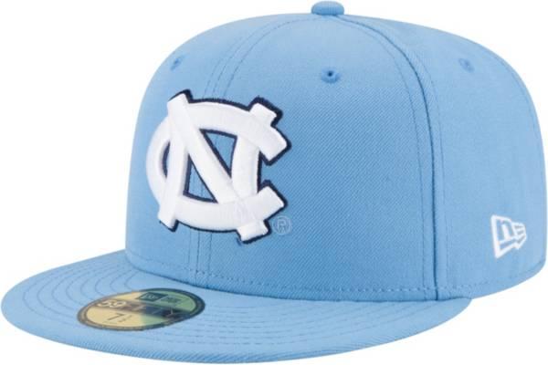 New Era Men's North Carolina Tar Heels 59Fifty Game Carolina Blue Game Fitted Hat product image