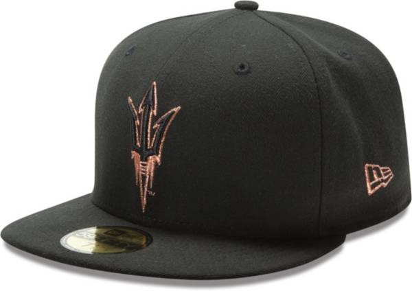 New Era Men's Arizona State Sun Devils 59Fifty Game Black Game Fitted Hat product image