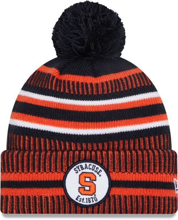 New Era Men's Syracuse Orange Blue Sport Knit Pom Beanie product image