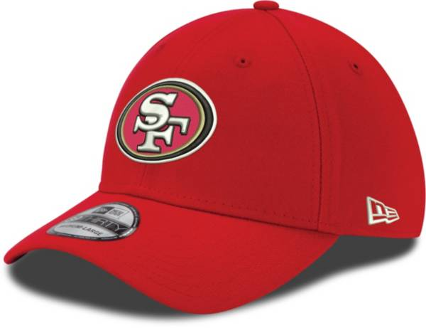 New Era Men's San Francisco 49ers Scarlet 39Thirty Stretch Fit Hat product image