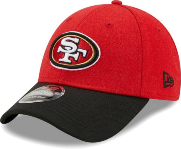 New Era Men's San Francisco 49Ers Red League 9Forty Adjustable Hat product image