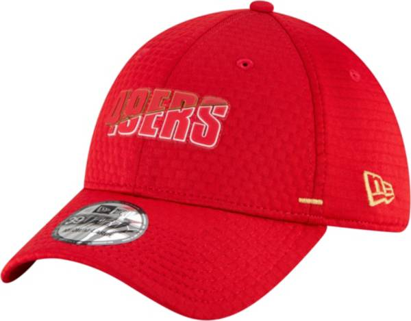 New Era Men's San Francisco 49ers Red Summer Sideline 39Thirty Stretch Fit Hat product image