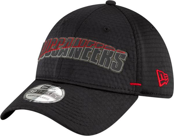 New Era Men's Tampa Bay Buccaneers Summer Sideline Black 39Thirty Stretch Fit Hat product image