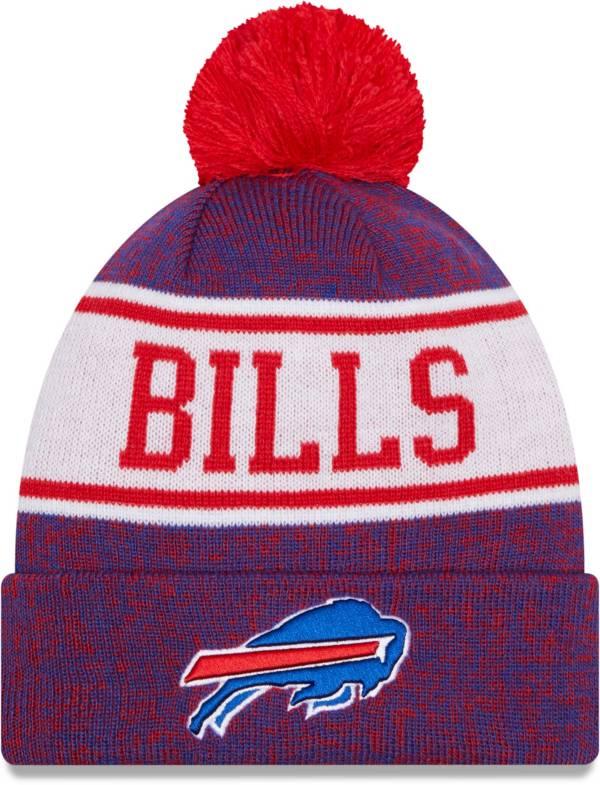 New Era Men's Buffalo Bills Royal Banner Knit Pom Beanie product image