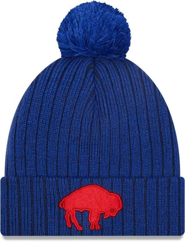 New Era Men's Buffalo Bills Royal Breeze Knit Pom Beanie product image