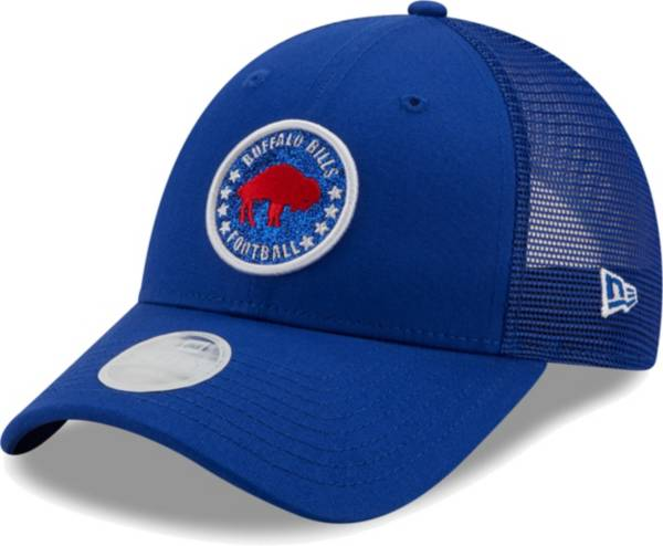 New Era Women's Buffalo Bills Royal Sparkle Adjustable Trucker Hat product image