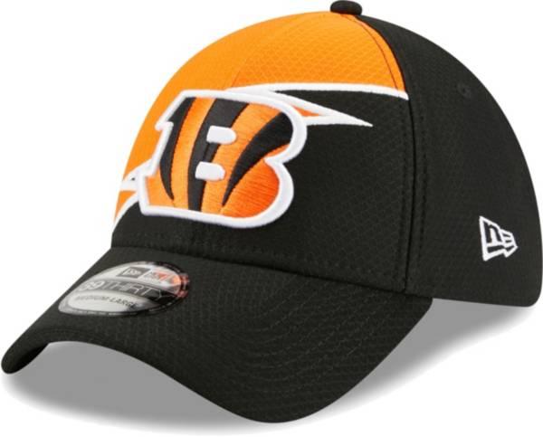 New Era Men's Cincinnati Bengals Black 39Thirty Bolt Fitted Hat product image