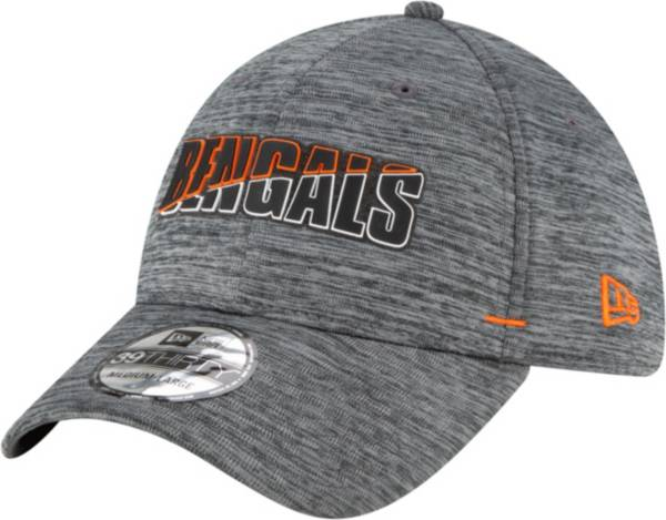 New Era Men's Cincinnati Bengals Grey Summer Sideline 39Thirty Stretch Fit Hat product image