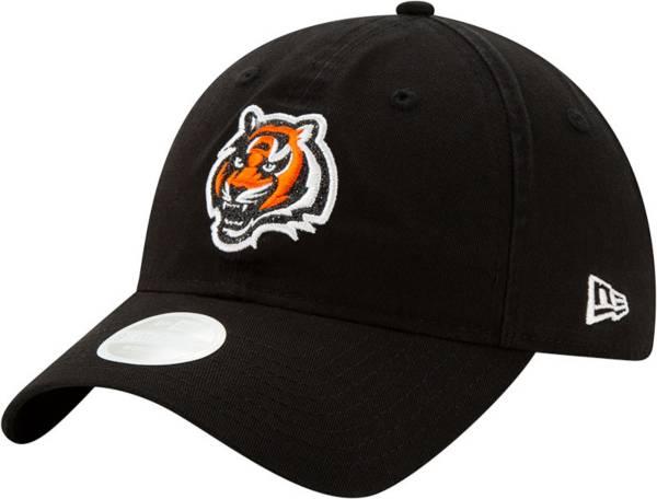 New Era Women's Cincinnati Bengals Black Glisten 9Twenty Adjustable Hat product image