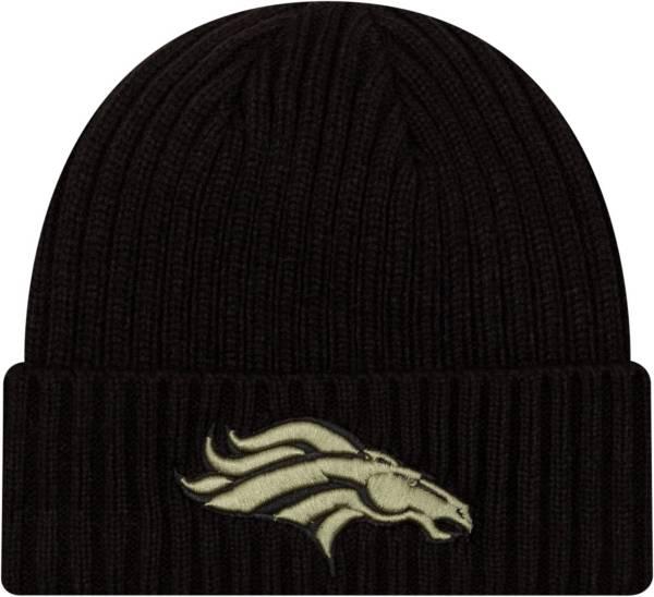 New Era Men's Salute to Service Denver Broncos Black Knit Hat product image