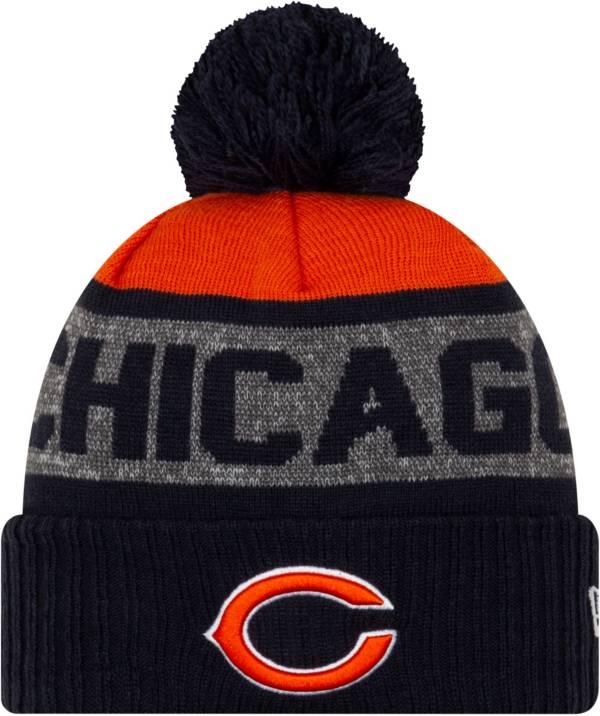 New Era Men's Chicago Bears Pom Knit Hat product image
