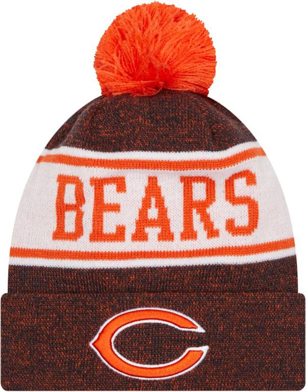 New Era Youth Chicago Bears Navy Banner Knit Pom Beanie product image