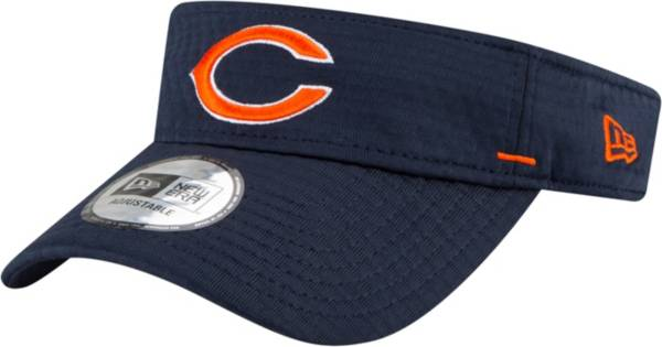 New Era Men's Chicago Bears Navy Summer Sideline Visor product image