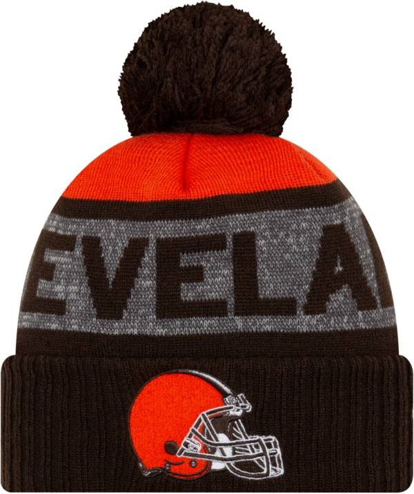 New Era Men's Cleveland Browns Pom Knit product image