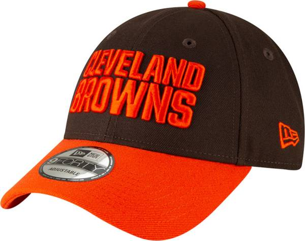 New Era Men's Cleveland Browns Orange League 9Forty Adjustable Hat product image