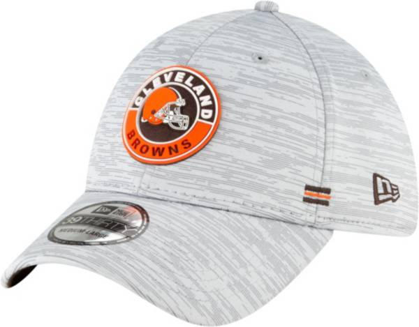 New Era Men's Cleveland Browns Sideline Road 39Thirty Stretch Fit Hat product image