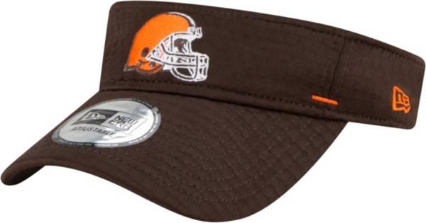 New Era Men's Cleveland Browns Brown Summer Sideline Visor product image