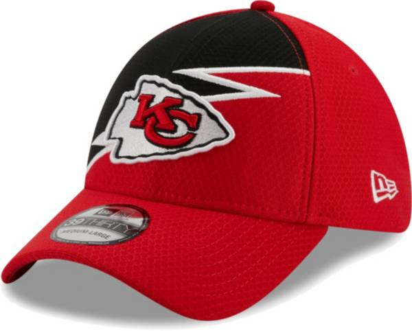 New Era Men's Kansas City Chiefs Red 39Thirty Bolt Fitted Hat product image
