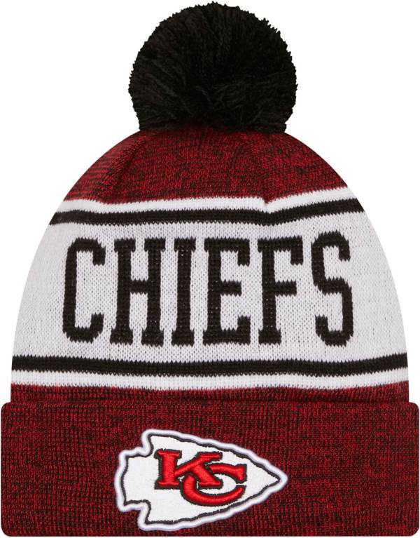 New Era Youth Kansas City Chiefs Red Banner Knit Pom Beanie product image