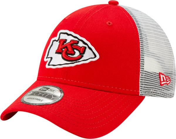 New Era Men's Kansas City Chiefs Red 9Forty Trucker Adjustable Hat product image